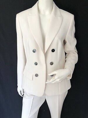 £20 • Buy Marc Cain Collection Off White Trouser Suit Size 14