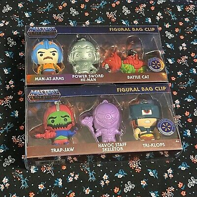 $44.99 • Buy MASTERS OF THE UNIVERSE Walmart Exclusive FIGURAL BAG CLIP 2 Sets Of 3
