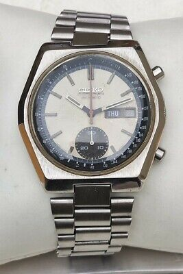 $ CDN229.62 • Buy Vintage Seiko Chronograph 6139-7080 Automatic Stainless Steel Day Date Watch
