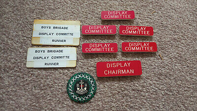 £1 • Buy Collection Of Boys Brigade Badges – Display Committee And Insignia 1980's