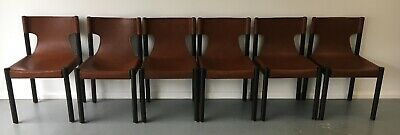 AU1500 • Buy Dining Chairs - Timber Frame, Leather Sling