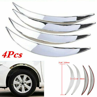 $ CDN32.59 • Buy Wheel Eyebrow Arch Lips Trim Cover Fit For Car Truck SUV Fender Flares Protector