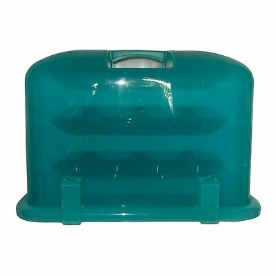 £60.81 • Buy Gunn Designs The Cupcake Courier 3 Tray Soft Sky Blue Rare Hard To Find Color