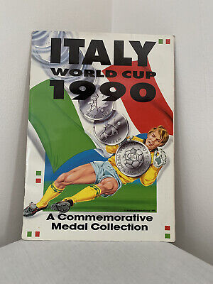 £45 • Buy Italy World Cup 1990 Medal And Coin COMPLETE COLLECTION