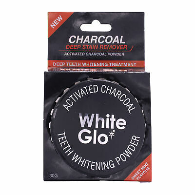 AU16.71 • Buy White Glo Activated Charcoal Teeth Whitening Powder, 30 Gram