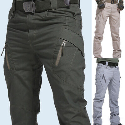 $18.86 • Buy Men Tactical Trousers Combat Outdoor Hiking Military Cargo Pants Multi Pocket #