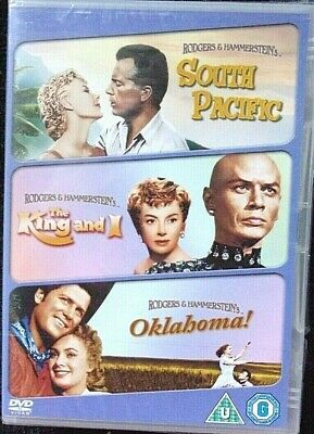 £3.99 • Buy South Pacific/Oklahoma/The King And I (DVD, 2009, 3-Disc Set) - New