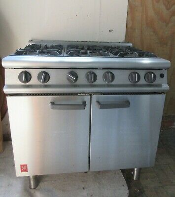 £600 • Buy Commercial Cooker 6 Burner Falcon G3101 With Oven NAT GAS Heavy Duty
