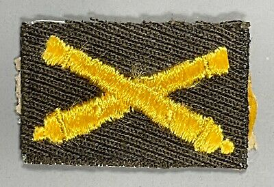 £1.42 • Buy WWII US Army Officer's Cloth Field Artillery Branch Insignia Patch