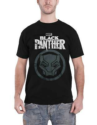 £8.95 • Buy Black Panther T Shirt Movie Big Icon New Official Marvel Comics Mens Black