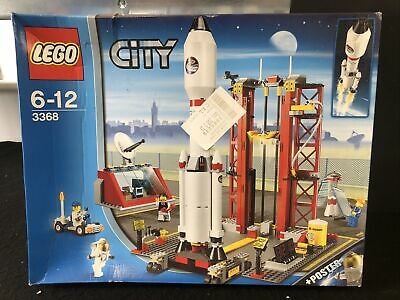 £124.99 • Buy LEGO City Space Centre (3368) New Sealed Retired Set Nasa Space Shuttle Rocket
