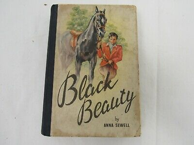 £5 • Buy Black Beauty The Story Of A Horse  Anna Sewell Picture Cover HBK 1947 UB10