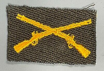 £1.42 • Buy WWII US Army Cloth Infantry Officer's Branch Insignia Patch