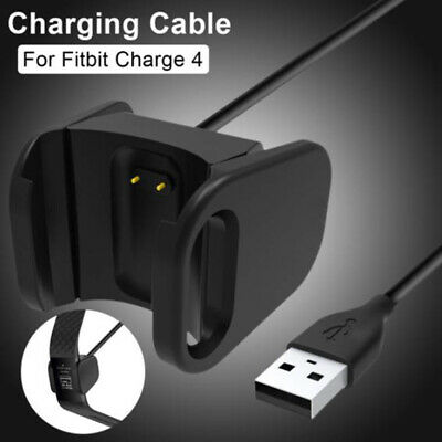 AU4.16 • Buy USB Charging Cable Portable Durable Charger For Fitbit Charge 4 Smart  L F2