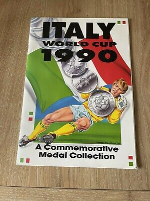 £45 • Buy Italy World Cup 1990 Commemorative Medal/Coin Collection Complete Ex. Cond