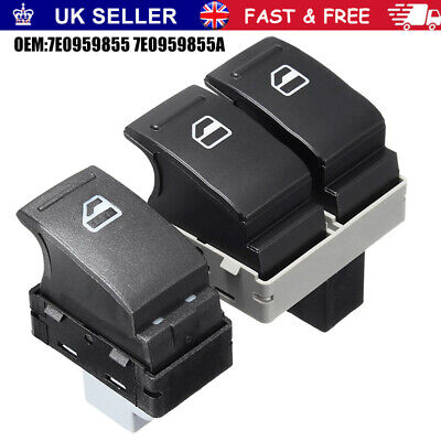 £9.97 • Buy Electric Window Switch Front Left & Right For VW Transporter T5 T6 2005-2014 New