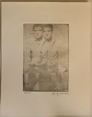 £72.64 • Buy Etching  ANDY WARHOL  Signed By Hand,gravure,radierung,aguafuerte