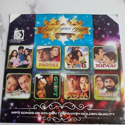 £12.50 • Buy BEST OF YEAR 1997 : Bollywood Mp3 CD : 100 SONGS : NEW : Z
