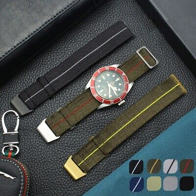 $16.77 • Buy Parachute 60's French Style Marine Troops Elastic American Army Watch Strap Band