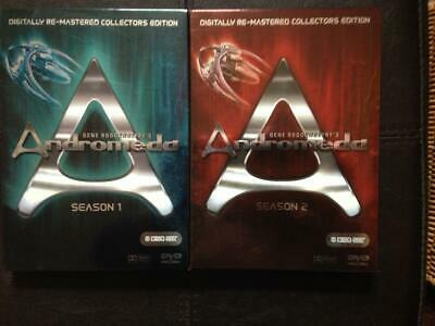 £5.99 • Buy ANDROMEDA  The Complete  Series 1& 2 Digitally Re- Mastered Collector's Edition