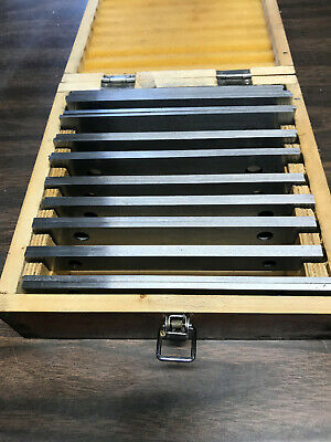 $45 • Buy Machinist Parallel Set- 10 Pairs 1/8  Sets 1/2  - 1-5/8  In 1/8  Increments