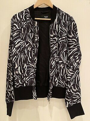 £150 • Buy Versus Versace Mens Black And White Bomber Jacket Size 50