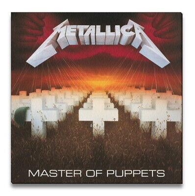 £21.21 • Buy Metallica Master Of Puppets Cover Album Canvas Print Framed 40 X 40cm