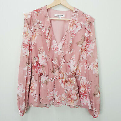 AU65 • Buy FOREVER NEW Womens Size 12 Sorrento Romantica Blouse