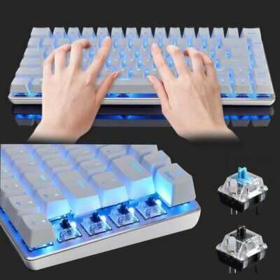 AU44.57 • Buy AU Mechanical Gaming Keyboard Usb Compact 82 Keys Wired For PC Laptop PS4 Office