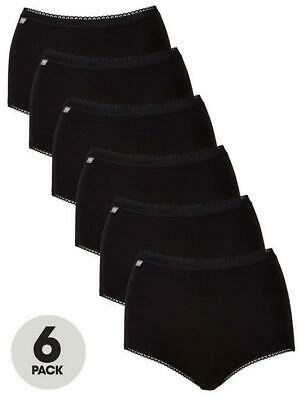£29.99 • Buy Playtex Rich Cotton Stretch Maxi Briefs - 6 Pack Ladies Knickers