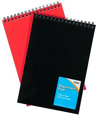 £2.79 • Buy  A5 Shorthand Pad Spiral Wirebound Note Book List Reporters Ruled 60 Sheet