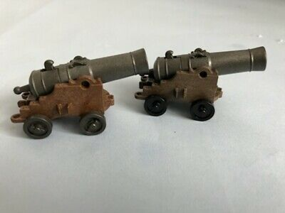 £4.99 • Buy Playmobil 2 Firing Cannons Spares Pirates Castle Knights Soldiers Cavalry
