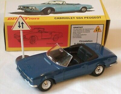 £14.75 • Buy Dinky/atlas French Diecast Model ** Cabriolet 504 Peugeot Car **  Boxed - New