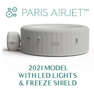 £671.89 • Buy Lay-Z Spa Paris 🏝 6 Person Hot Tub Inflatable 24hr 🚚 ✅Trusted ✅-LIKE HAWAII✅✅