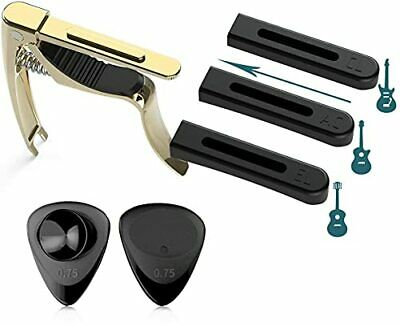 $ CDN14.36 • Buy Guitar Capo For Acoustic Classical Electric Guitar With Absorbable Pick Guitar