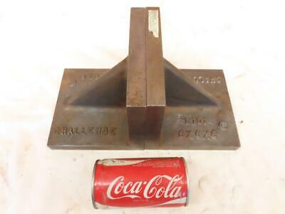 $95 • Buy Good Used 6  X 6  X 6  Challenge L101 Machinist Set Up Block Right Angle Block