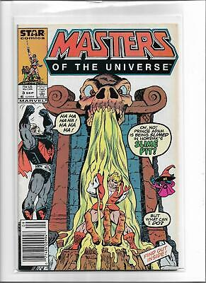 $9.95 • Buy Masters Of The Universe #3 1986 Very Fine 8.0 He-man Skeletor 5730