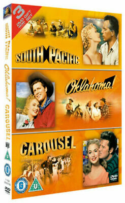 £2.52 • Buy South Pacific/Oklahoma/Carousel DVD Musicals & Broadway (2005) -