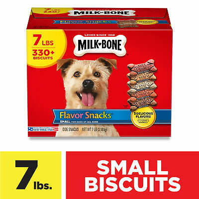 $12.60 • Buy Milk-Bone Flavor Snacks Small Biscuits For Dogs Of All Sizes 7lbs