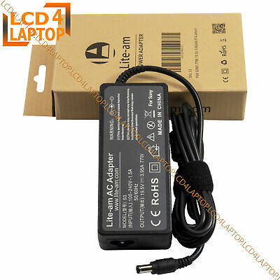 £12.49 • Buy For Sony Vaio PGC-7134M PCG-7Y1M Laptop Power Supply AC Adapter Charger PSU