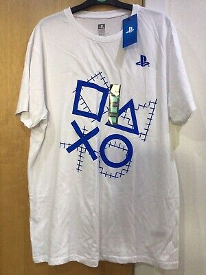 £7 • Buy Playstation Primark Size 2XL White T Shirt 100% Cotton New With Tags