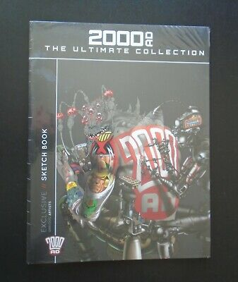 £12.95 • Buy 2000 AD ~ The Ultimate Collection Exclusive Sketch Book
