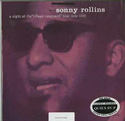 £16.91 • Buy Sonny Rollins, A Night At The Village Vanguard 200g LP (Michael Hobson Archives)