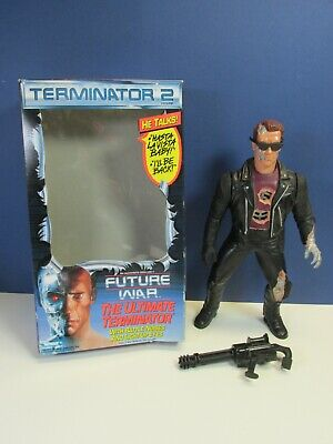 £77.96 • Buy Vintage 14  THE ULTIMATE TERMINATOR 2 T2 Talking ACTION FIGURE Kenner 1992 BOXED