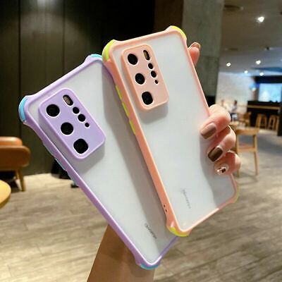 AU8.79 • Buy Shockproof Clear Case For Samsung S20 S10 E S9 S8 Plus A51 A71 Hard Back Cover