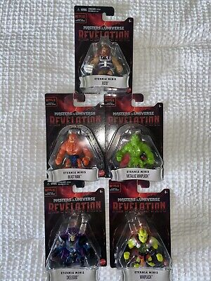 $52 • Buy Set Of 5! Masters Of The Universe Revelation Eternia Minis Complete NEW