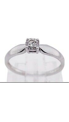 AU350 • Buy 14 Ct White Gold Diamond Ring Valuation Certificate $3,248.00