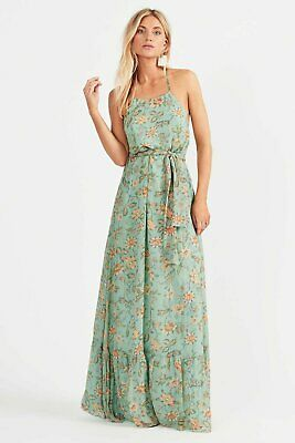 AU149.99 • Buy Tigerlily Persi Silk Maxi Dress 8 Brand New With Tags. Size 8