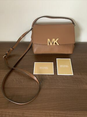 £45 • Buy Genuine Michael Kors Tan Bag With Adjustable Strap  & Gold Fastening New No Tags