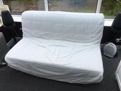£20 • Buy Ikea Lycksele White Double Sofa Bed, Very Good Condition